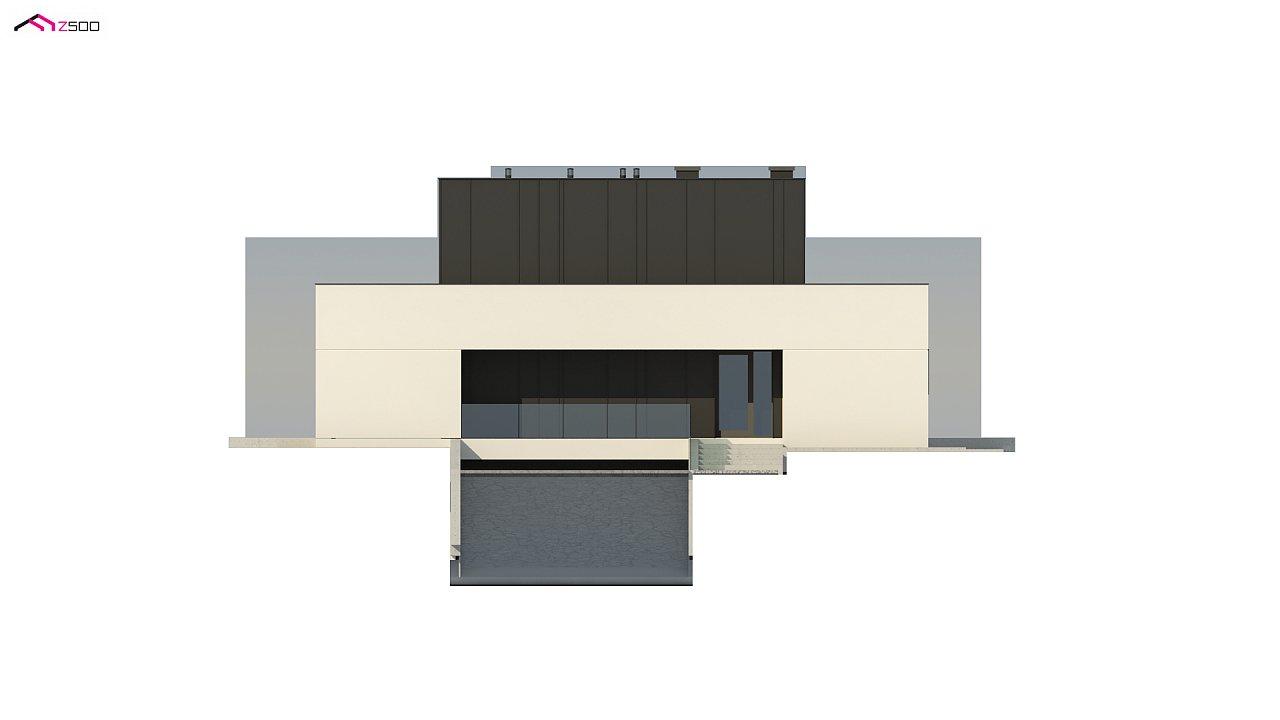 Дом в современном стиле с подвалом 7