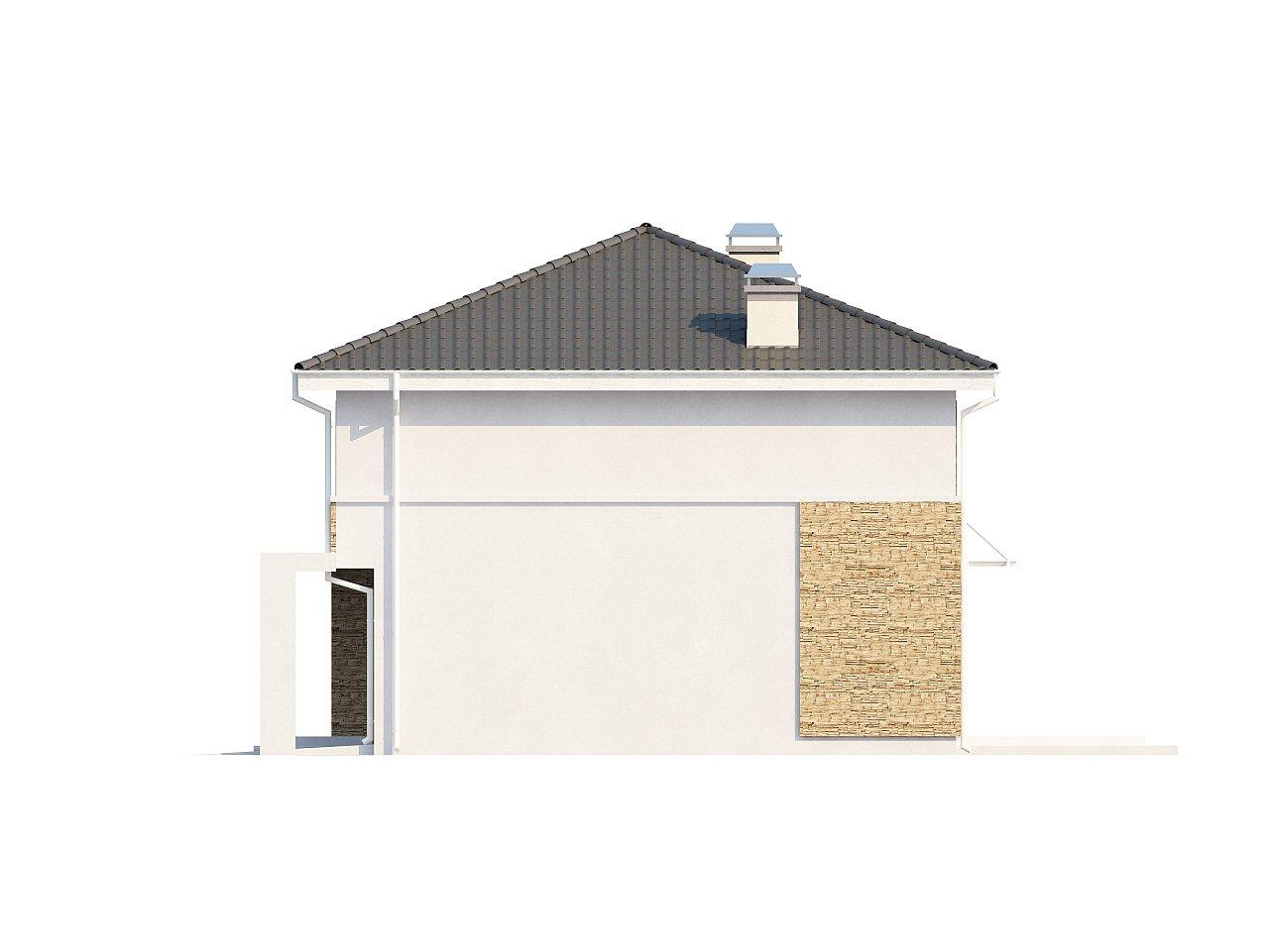 Просторный двухэтажный дом минималистичного современного дизайна. 9