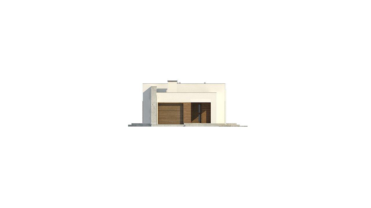 Комфортный одноэтажный дом для узкого участка. 6