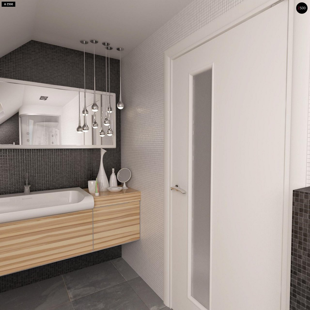 Выгодный и простой в строительстве дом с эркером в дневной зоне. 19
