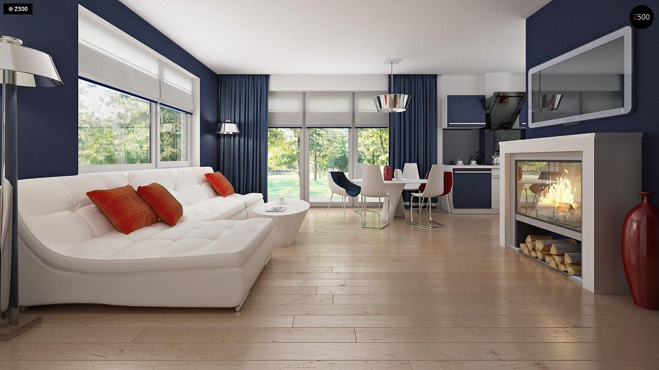 Дом с мансардным этажом, адаптированный для сейсмоопасных регионов. 6