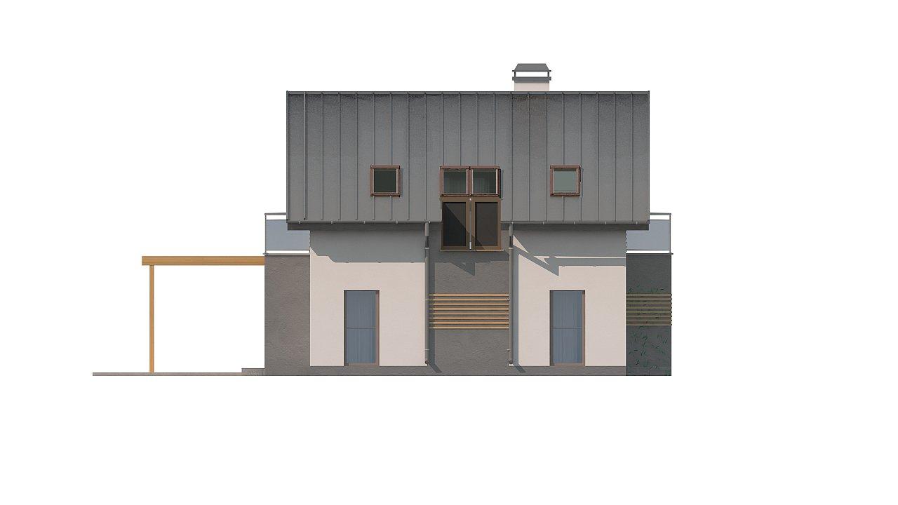 Дом традиционной формы с современными элементами в архитектуре. Уютный и функциональный интерьер. - фото 14