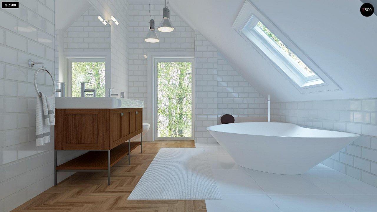 Удобный и красивый дом с красивым окном во фронтоне. 18