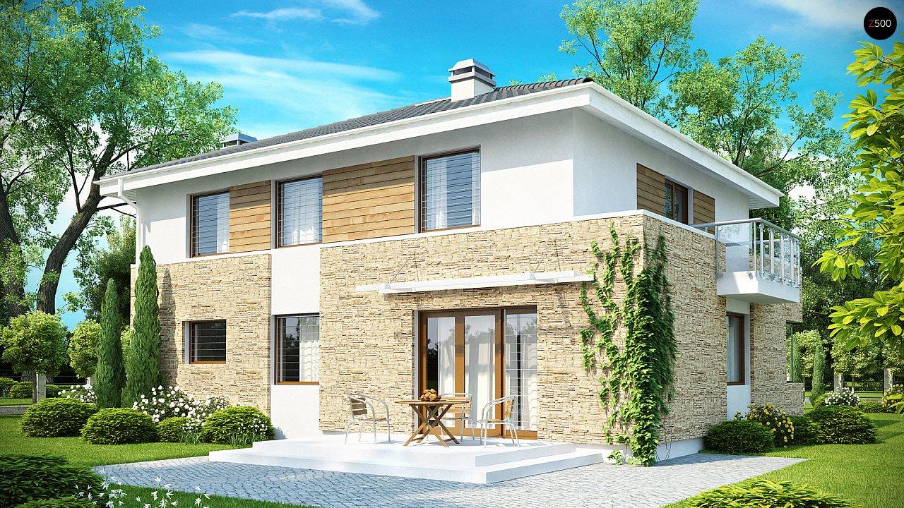 Просторный двухэтажный дом минималистичного современного дизайна. 2