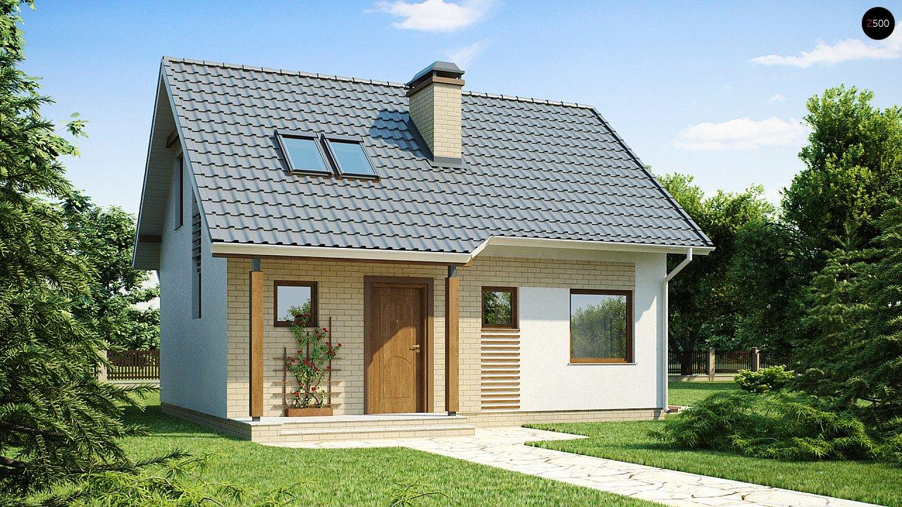 Практичный функциональный дом, недорогой в строительстве и эксплуатации. 1