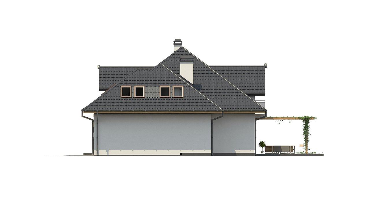 Версия проекта Z270 с альтернативной планировкой мансардного этажа. 22