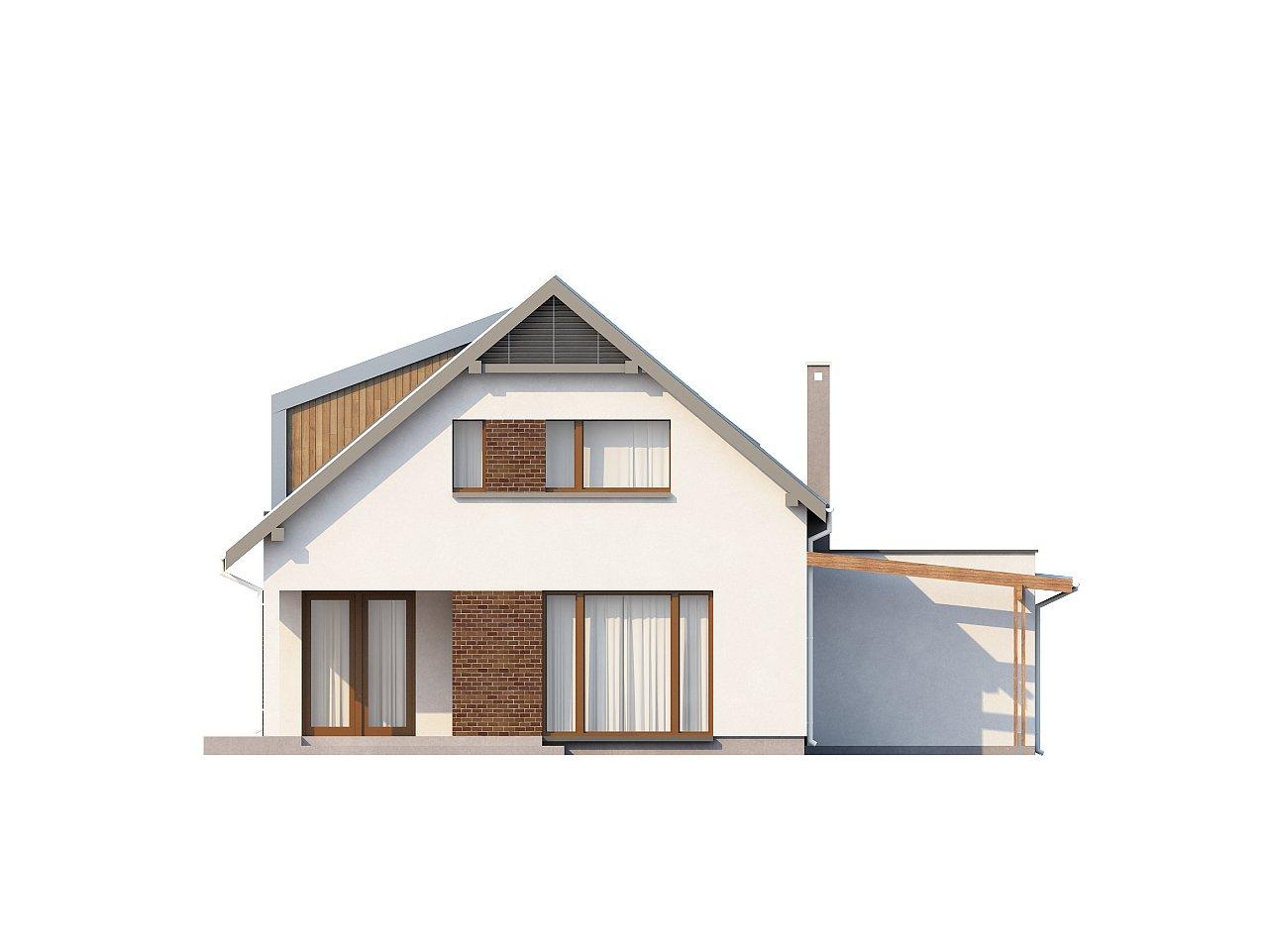 Компактный функциональный дом с оригинальными архитектурными элементами. 5