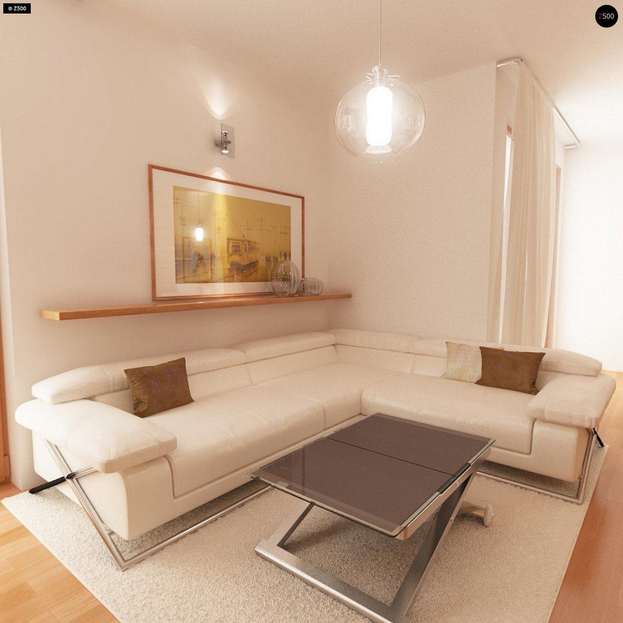 Проект стильного, функционального и недорогого двухсемейного дома. 8