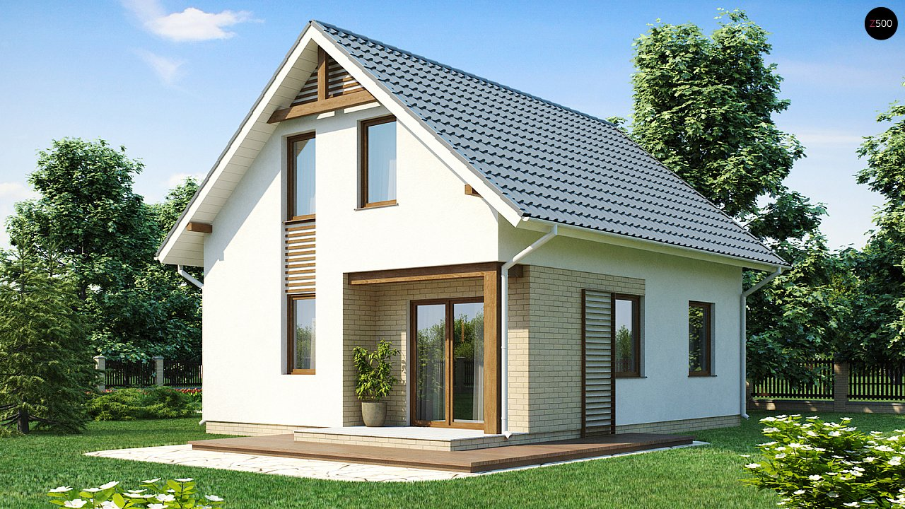 Практичный функциональный дом, недорогой в строительстве и эксплуатации. 2