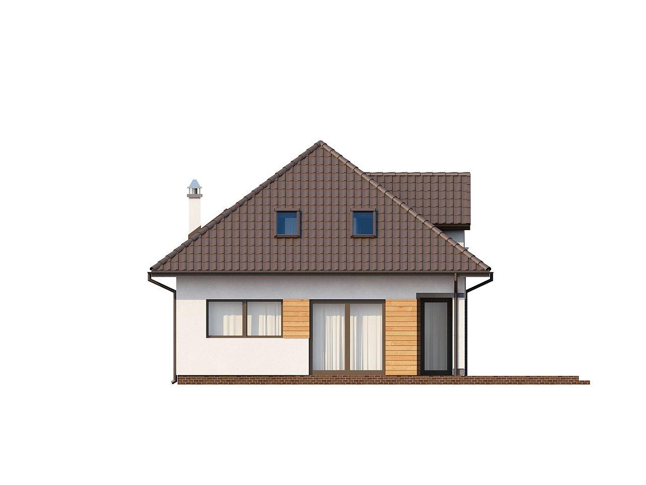 Проект практичного и уютного традиционного дома. 4