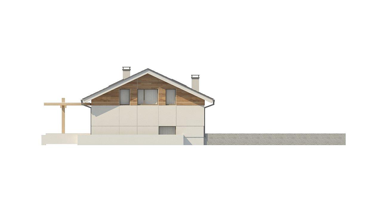 Аккуратный дом с тренажерным залом. 9