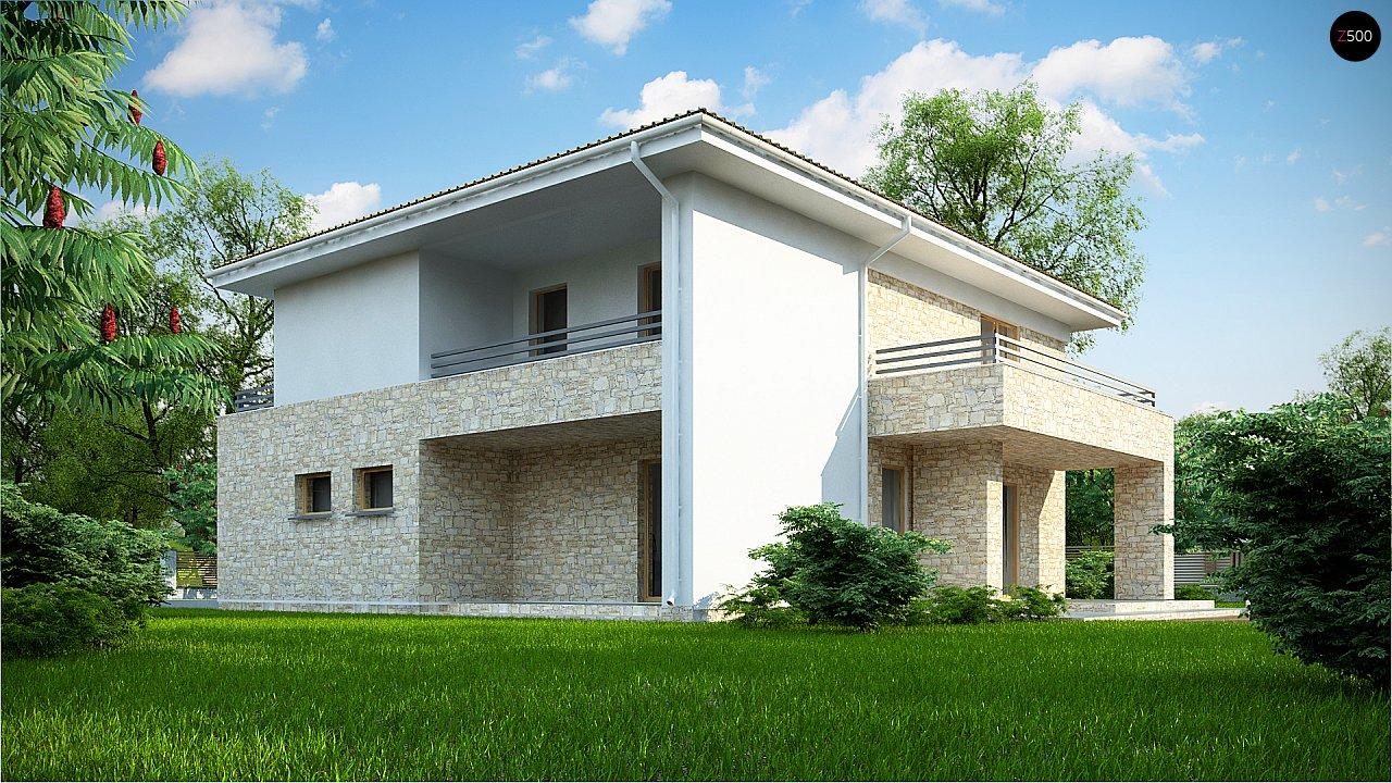 Дом с полноценным вторым этажом , четырьмя спальнями , гаражом и кабинетом на первом этаже 4