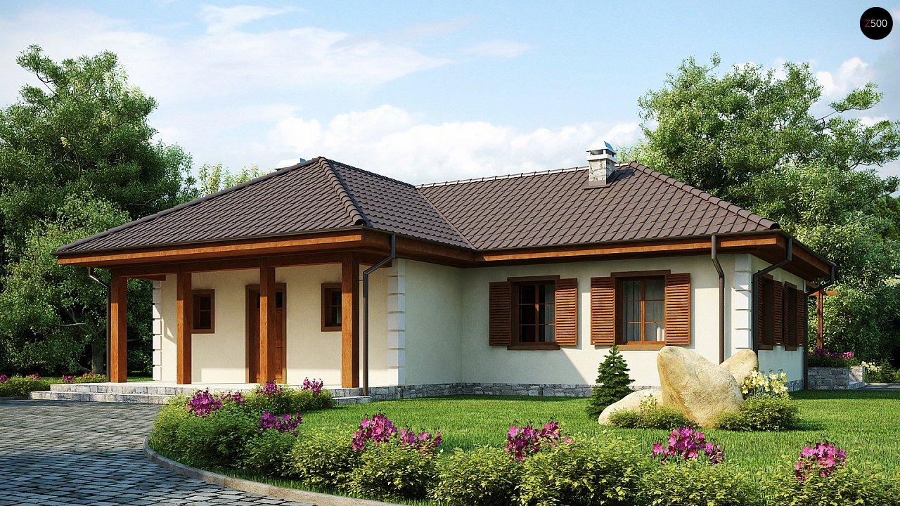 Добротный практичный одноэтажный дом с возможностью обустройства мансарды. - фото 2
