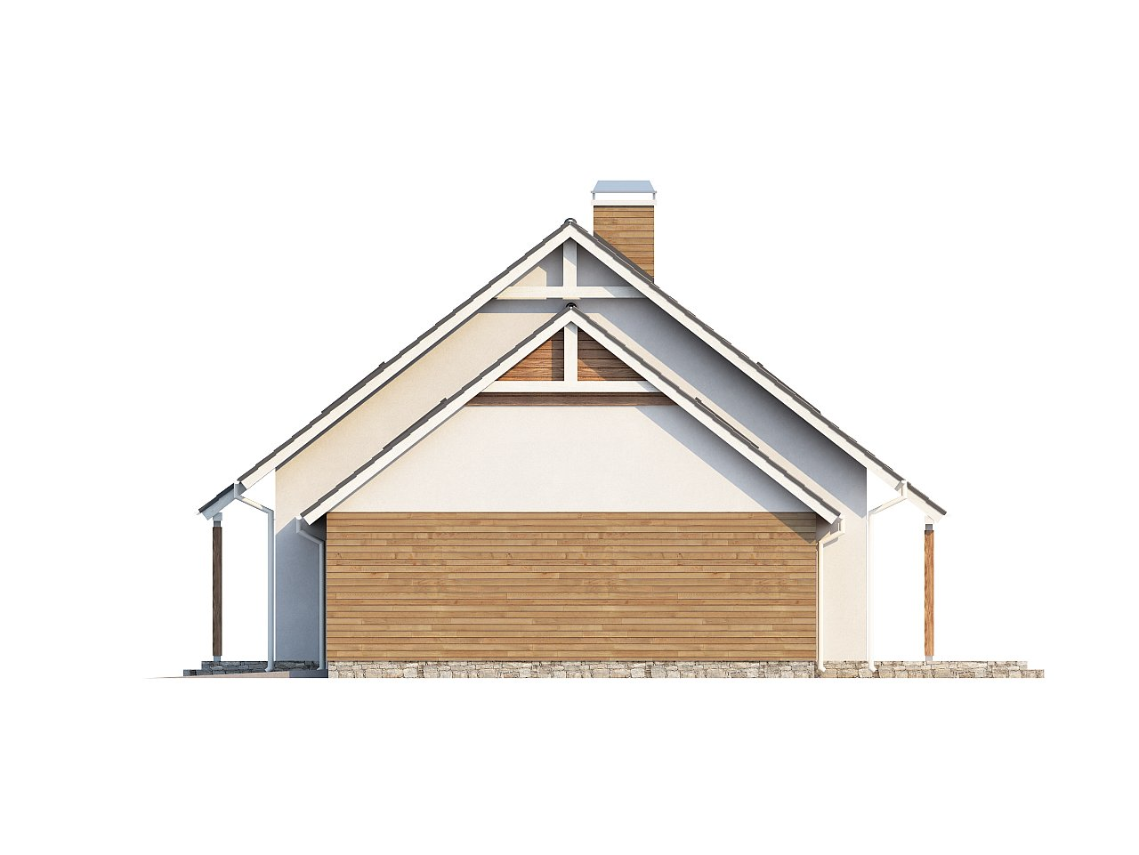Проект функционального и удобного дома с комнатой над гаражом. 23