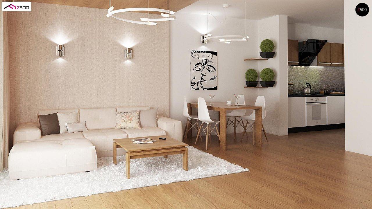 Выгодный и простой в строительстве дом полезной площадью 100 м2. 4