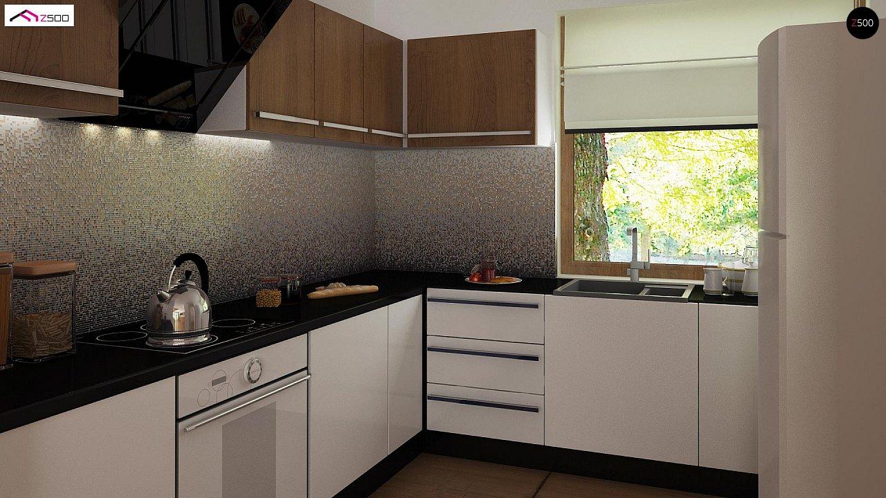 Выгодный и простой в строительстве дом полезной площадью 100 м2. 7