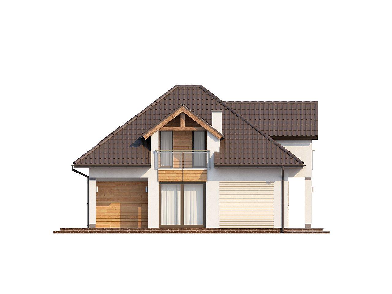 Проект практичного и уютного традиционного дома. 5