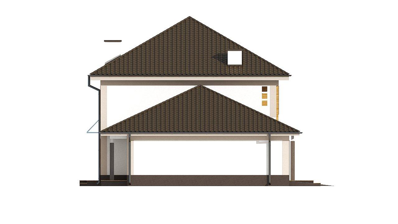 Версия проекта Zx12 с гаражом для двух машин. - фото 28