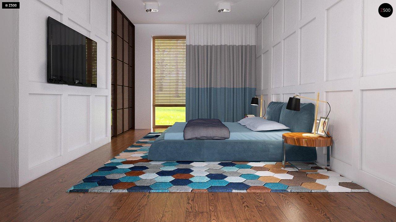 Одноэтажный дом исключительного современного дизайна. 22