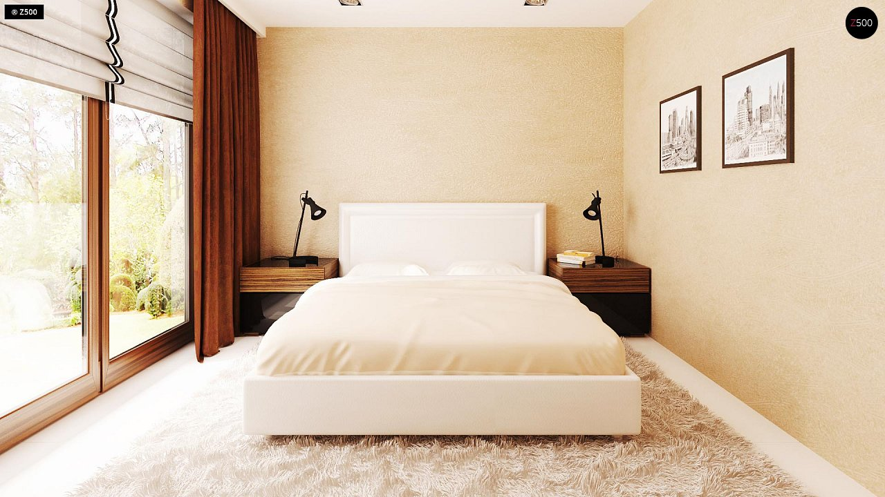 Одноэтажный дом традиционного характера с тремя удобными спальнями и встроенным гаражом. - фото 15
