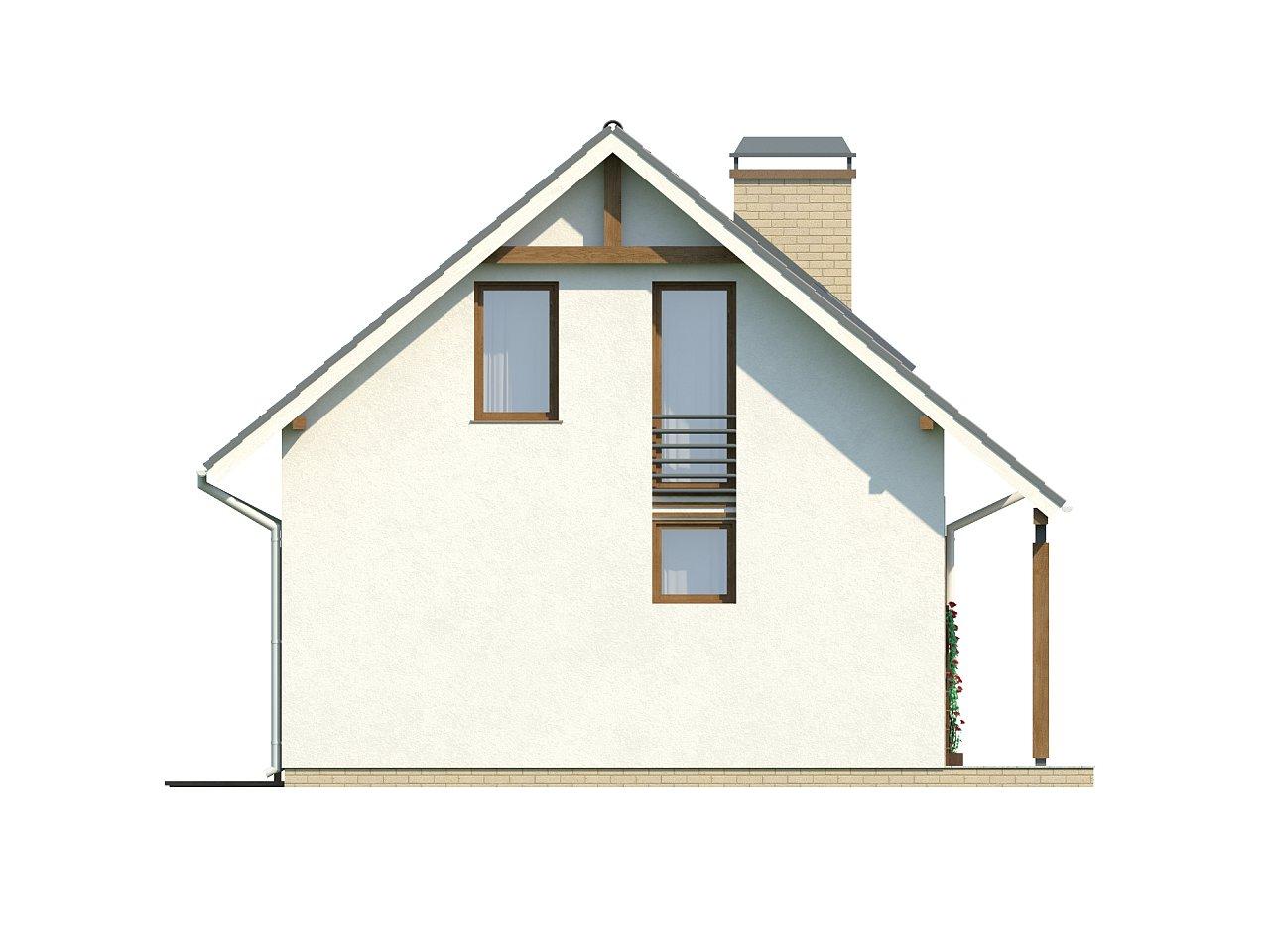 Практичный функциональный дом, недорогой в строительстве и эксплуатации. 16