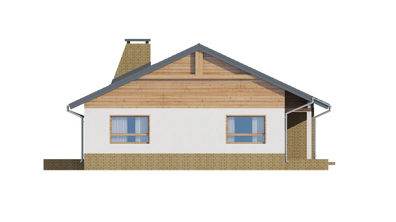 Версия увеличеного одноэтажного дома Z41 - фото 14