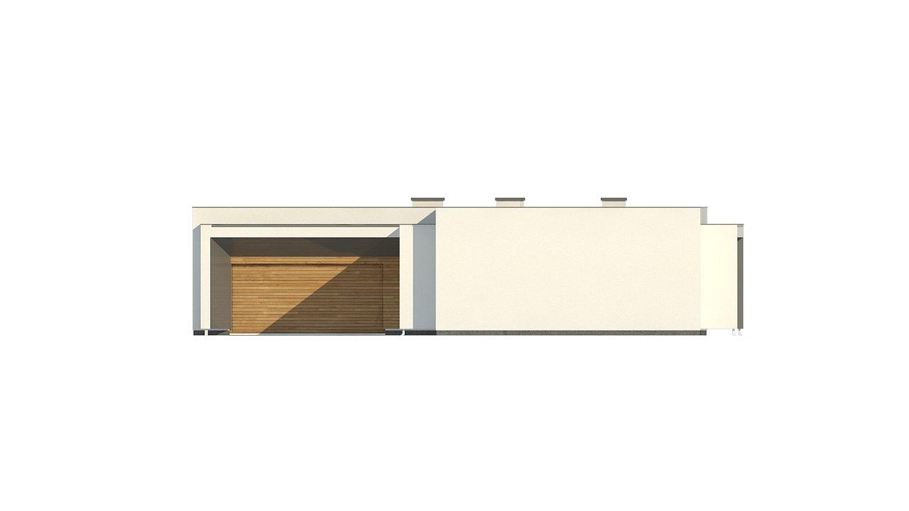 Современный плоскокровельный дом с компактной и удобной планировкой 4