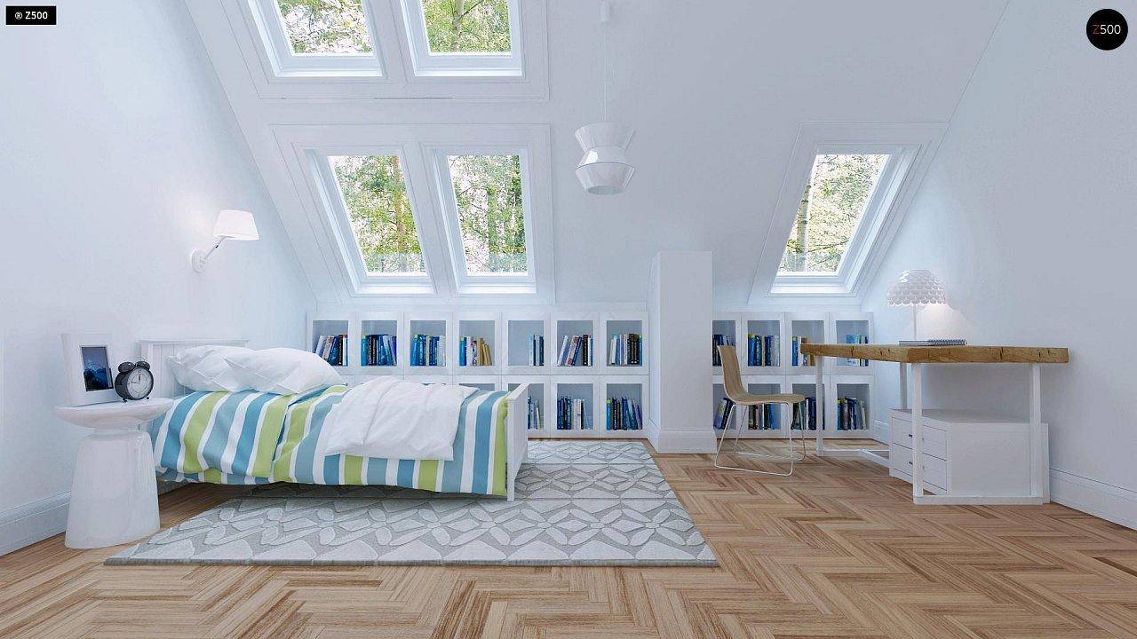 Удобный и красивый дом с красивым окном во фронтоне. 11