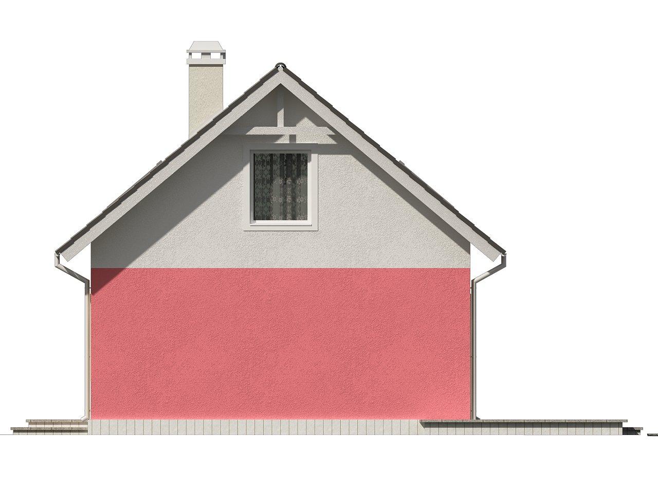 Практичный дом для небольшого участка, простой в строительстве, дешевый в эксплуатации. 23