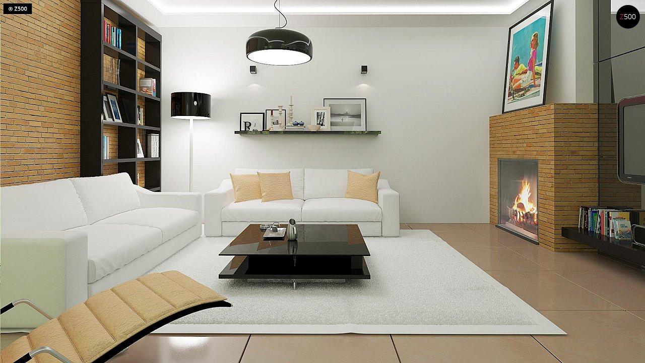 Комфортный дом привлекательного дизайна с дополнительной комнатой над гаражом. 6