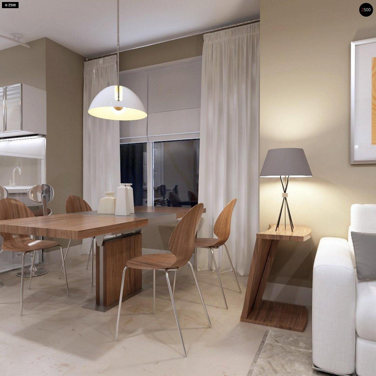 Компактный дом с мансардой, эркером в дневной зоне и c кабинетом на первом этаже. 8