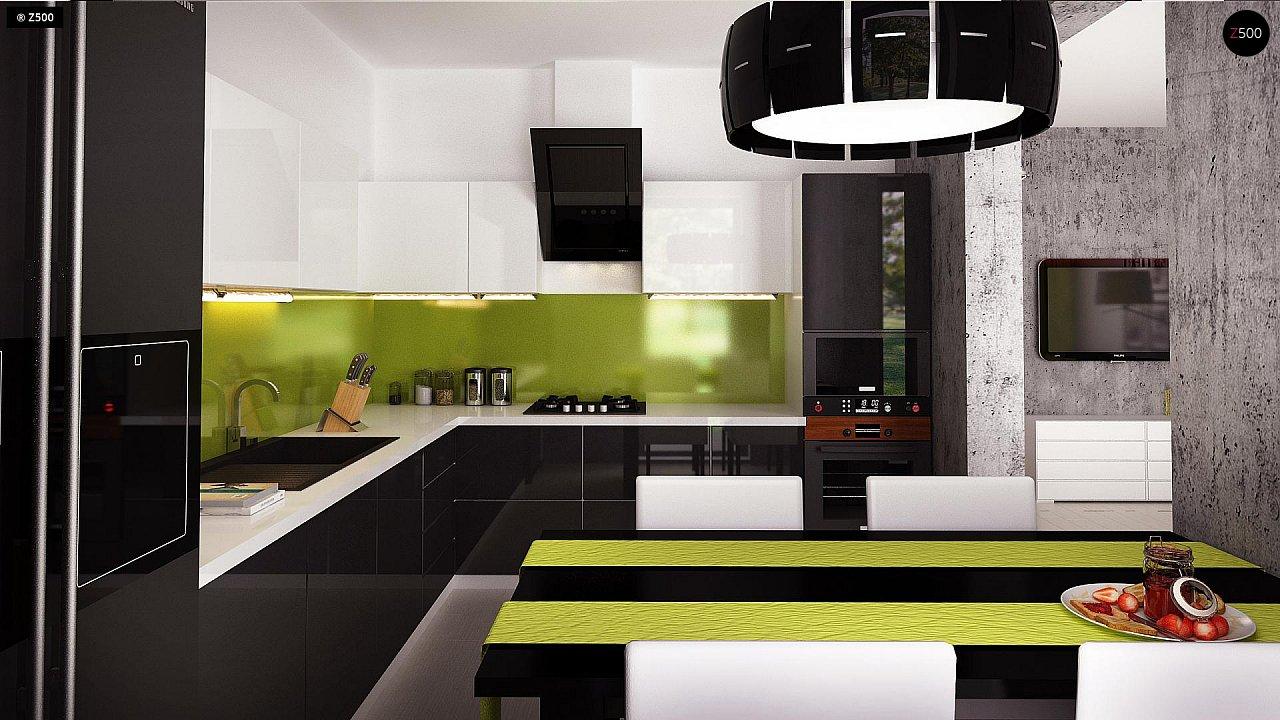 Компактный и удобный дом традиционной формы, подходящий, также, для узкого участка. 9