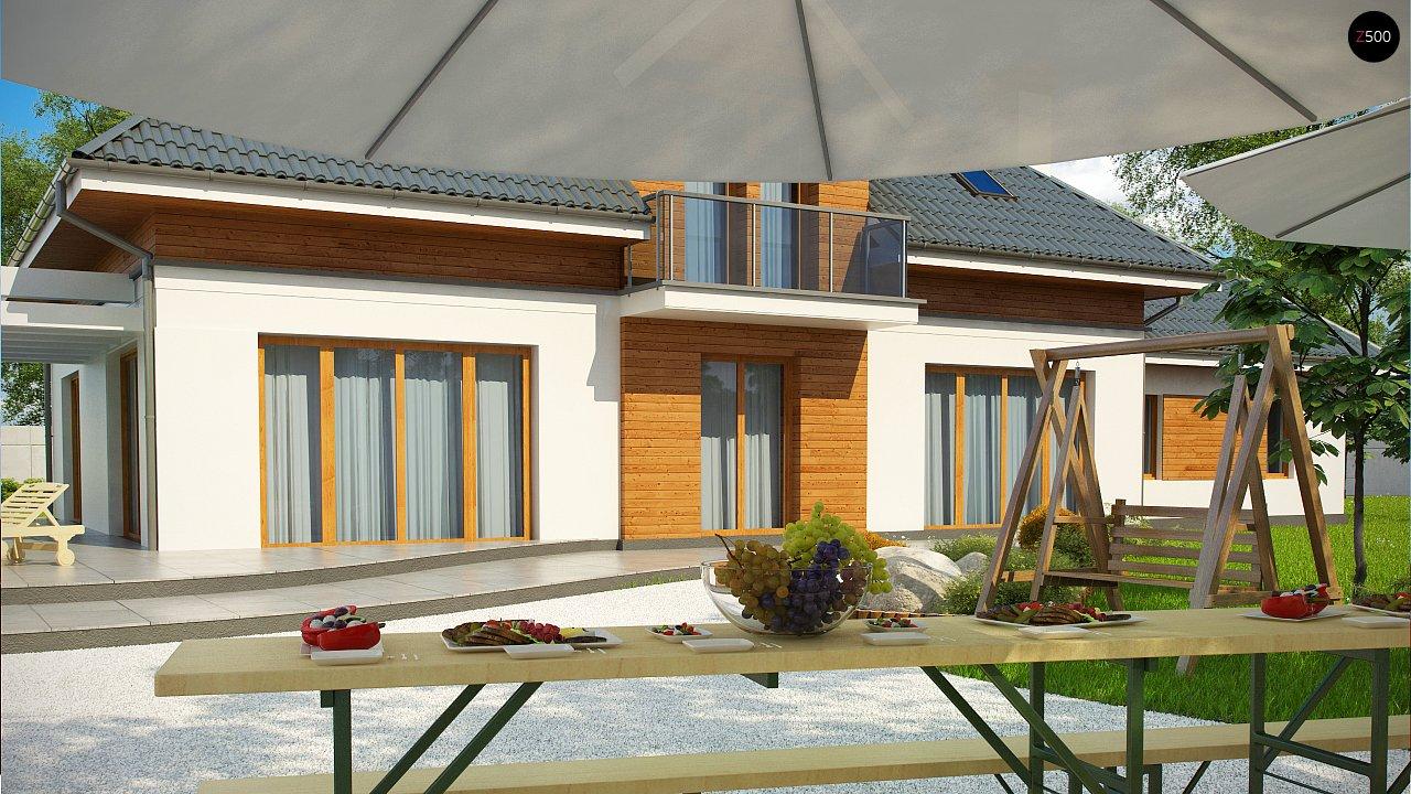 Проект дома Z50 в современной интерпретации. - фото 4