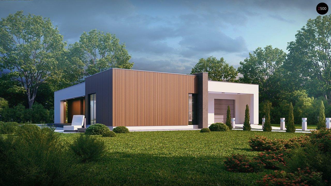 Прекрасное сочетание строгих минималистичных форм и уютного практичного интерьера. 4