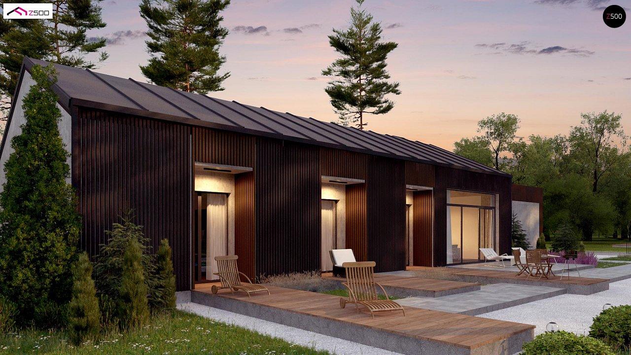 Дом в необычном современном стиле для большой семьи - фото 6