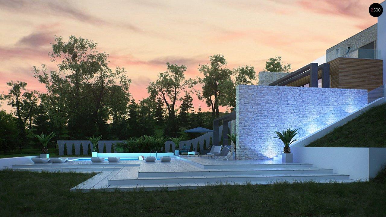 Трехэтажная современная резиденция с террасами и бассейном . 9