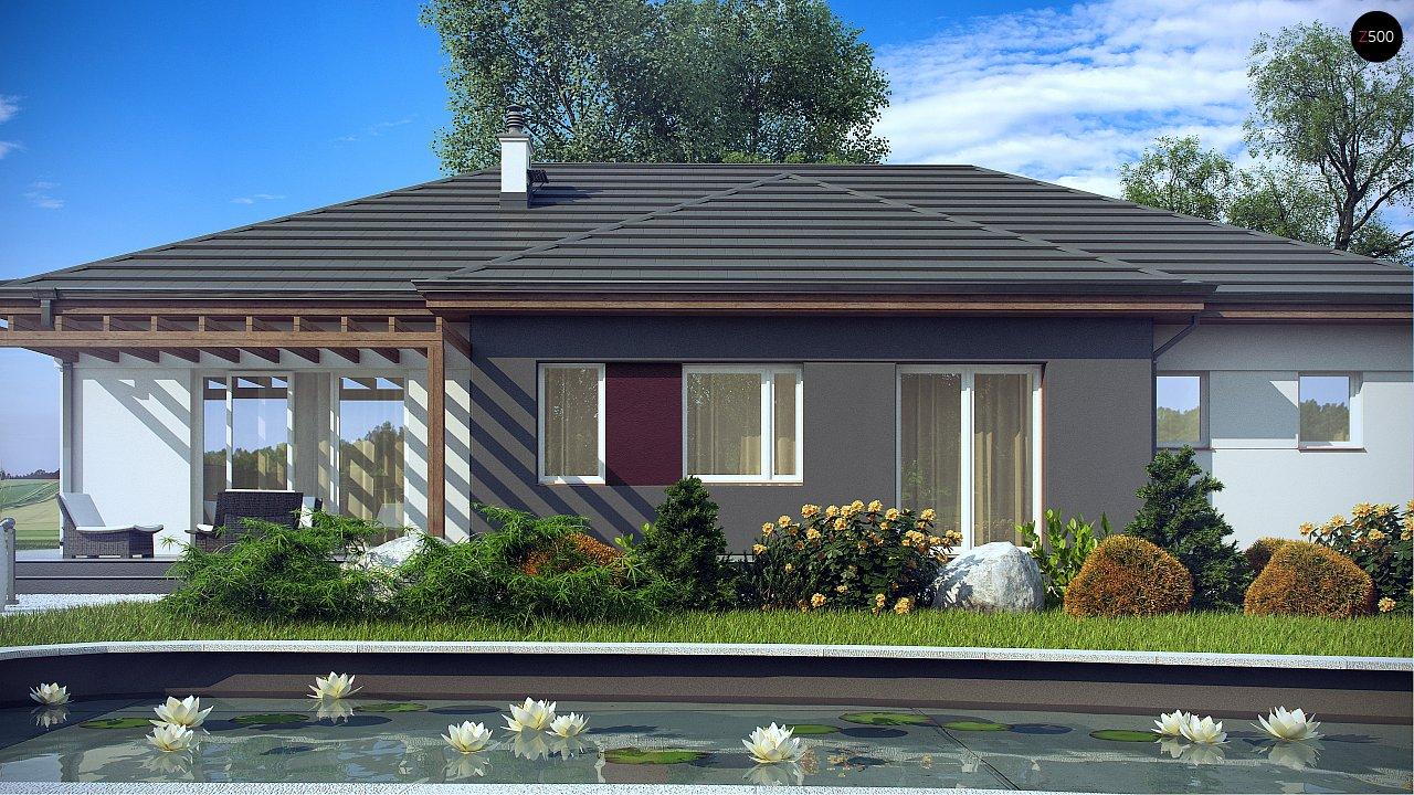 Комфортный одноэтажный дом в традиционном стиле. 4