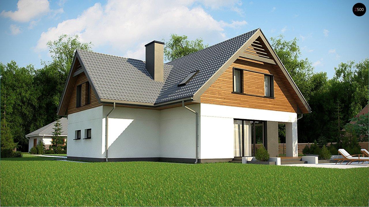 Современный жилой дом с гаражом 4