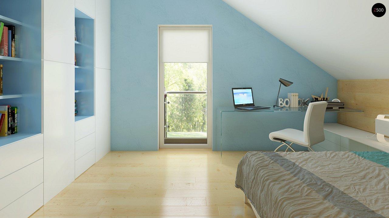 Компактный односемейный дом с дополнительной спальней на первом этаже. 18