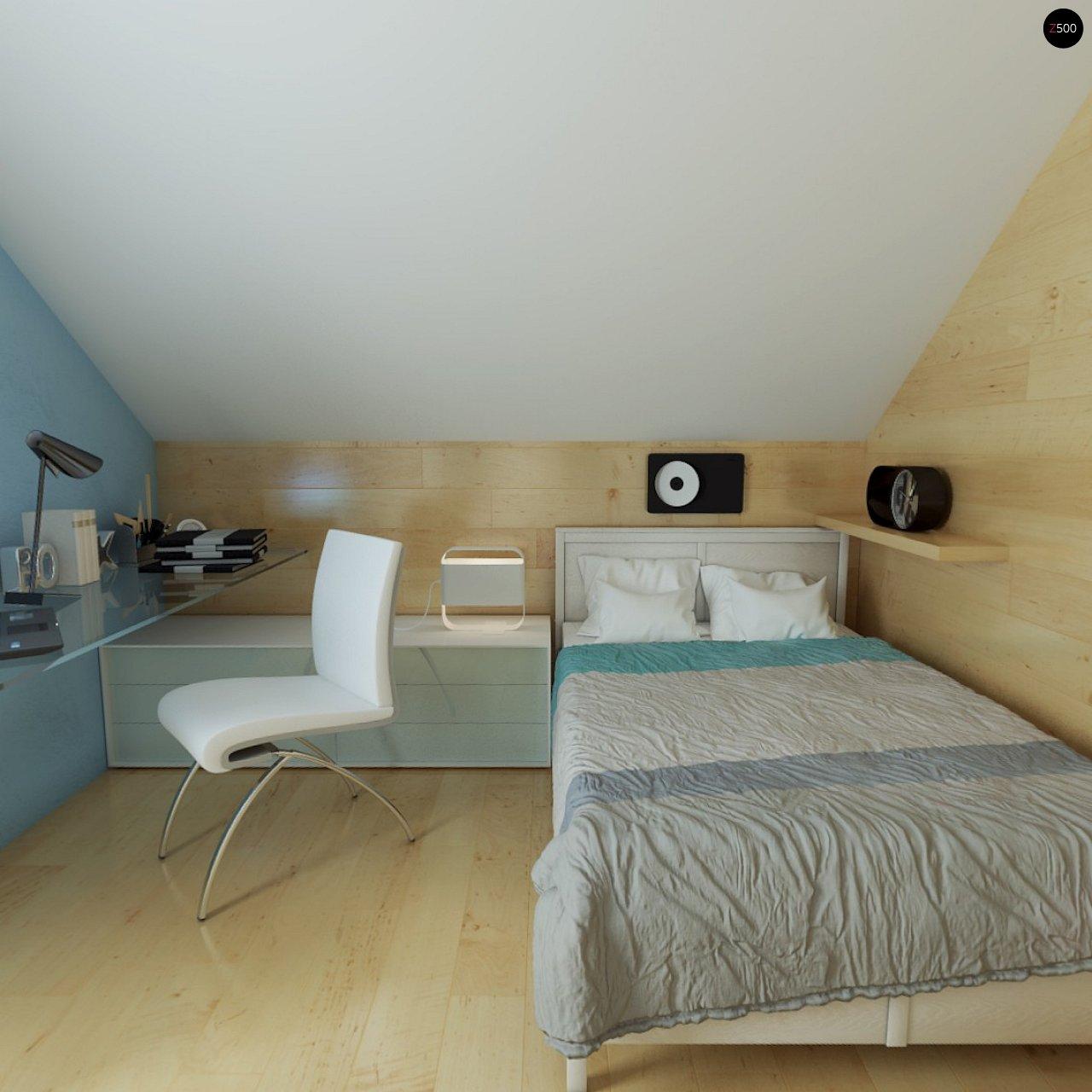 Компактный односемейный дом с дополнительной спальней на первом этаже. 16