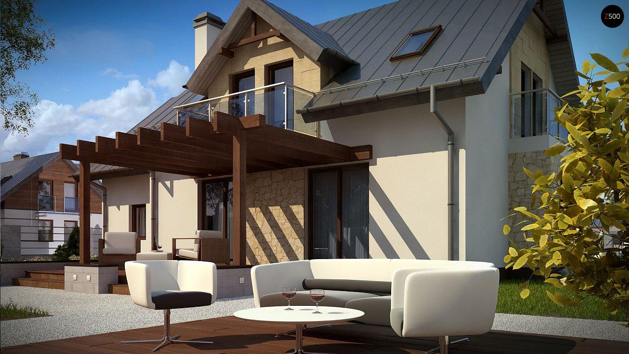 Стильный современный дом с пятью спальнями и гаражом. 4