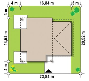 Комфортная двухэтажная усадьба с гаражом на 2 авто, с сауной на 1 этаже план помещений 1