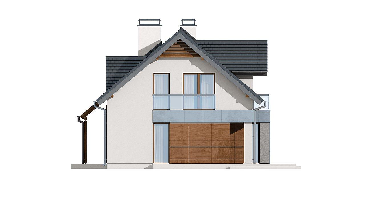 Традиционный дом с современными элементами архитектуры. - фото 22