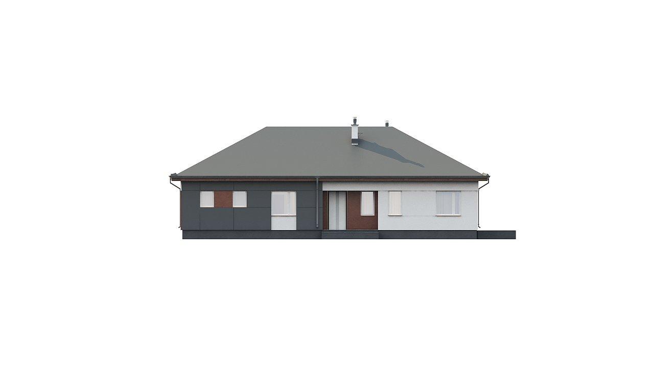 Комфортный одноэтажный дом в традиционном стиле. 6