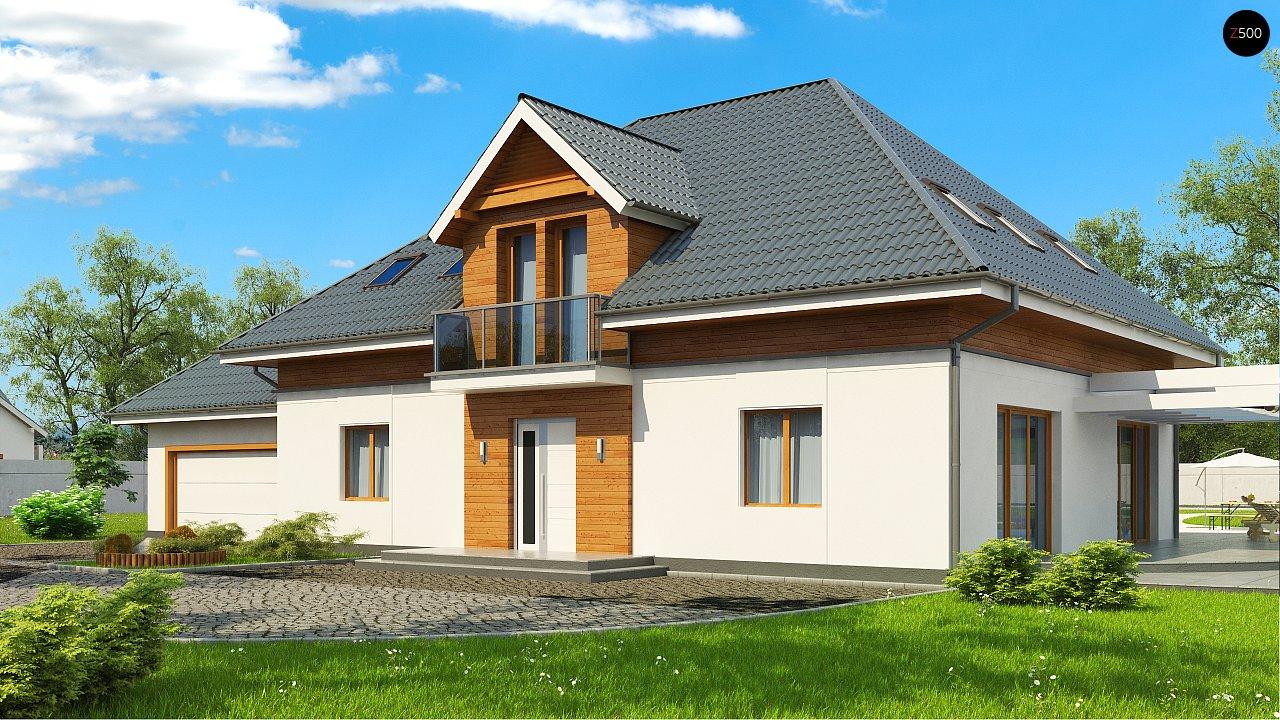 Проект дома Z50 в современной интерпретации. - фото 2