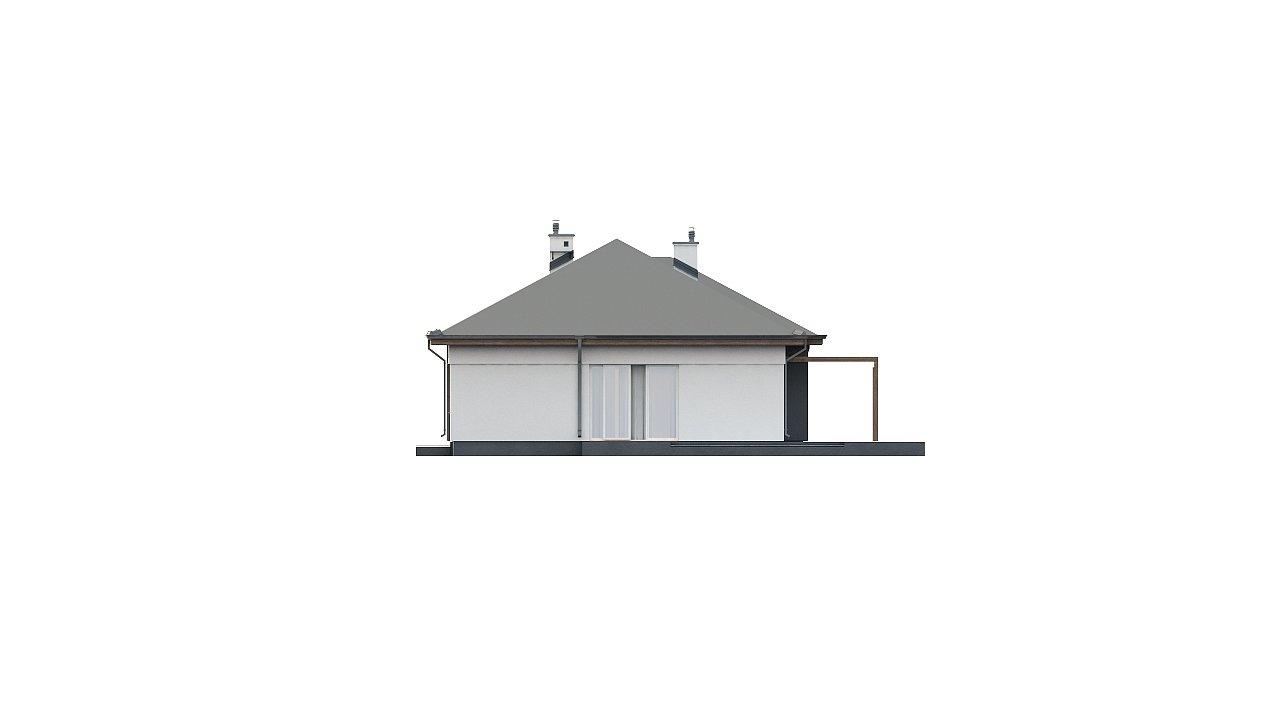 Комфортный одноэтажный дом в традиционном стиле. 9