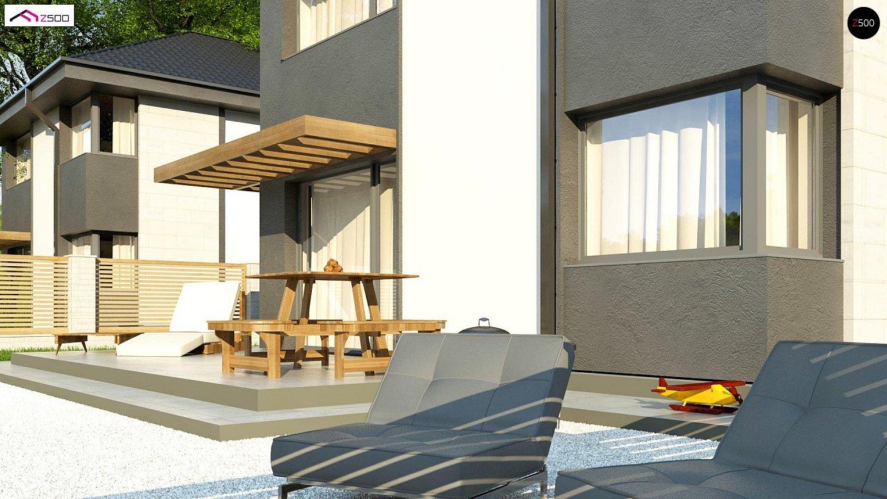Современный двухэтажный дом с практичной планировкой 6