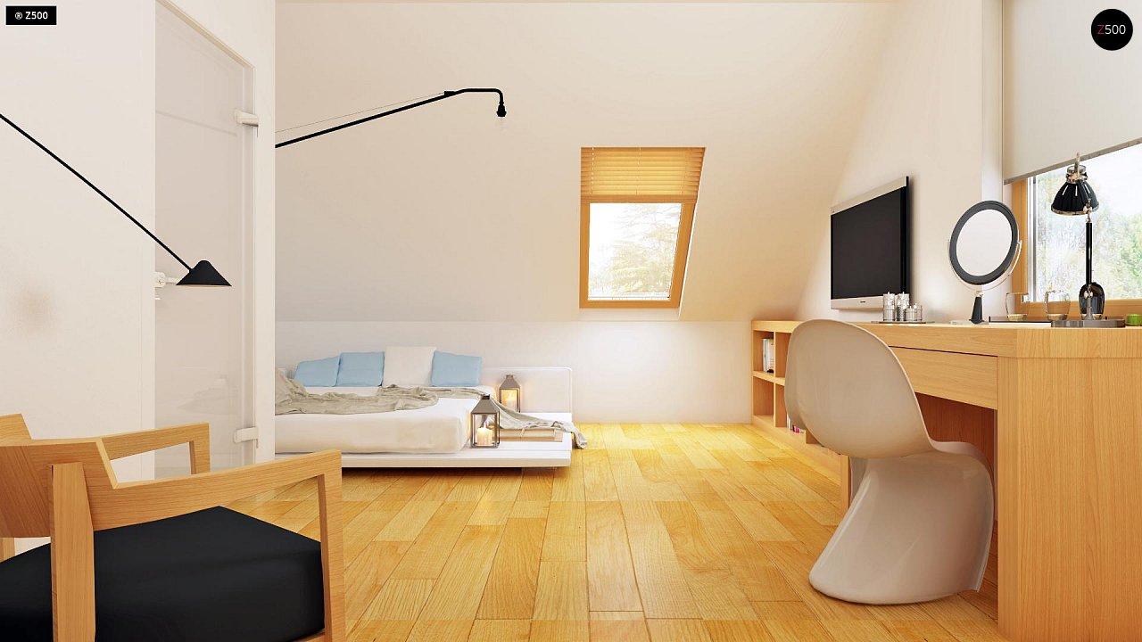 Практичный дом для небольшого участка, простой в строительстве, дешевый в эксплуатации. 10