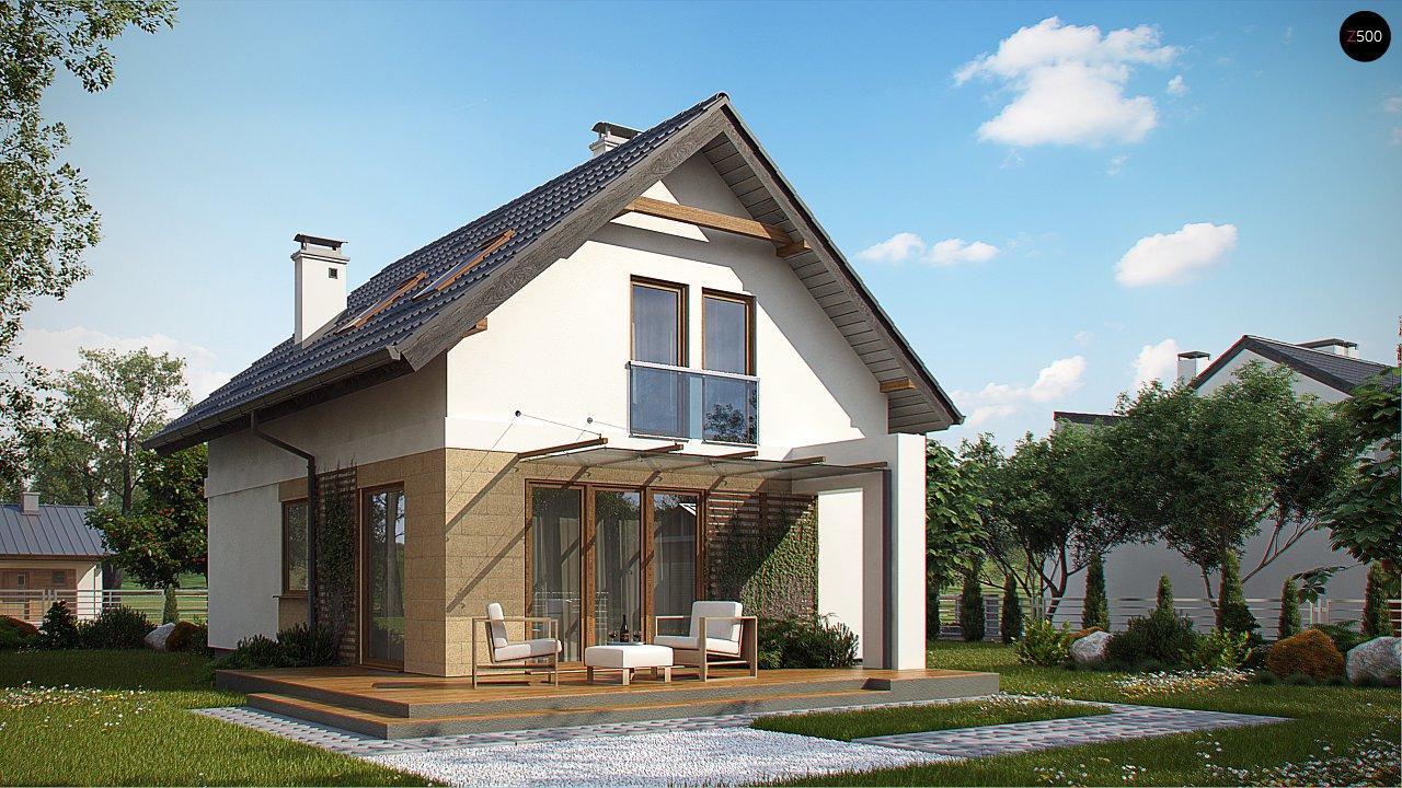 Аккуратный, практичный дом, также для узкого участка. 2
