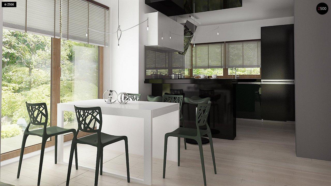 Дом традиционной формы с современными элементами в архитектуре. Уютный и функциональный интерьер. - фото 7